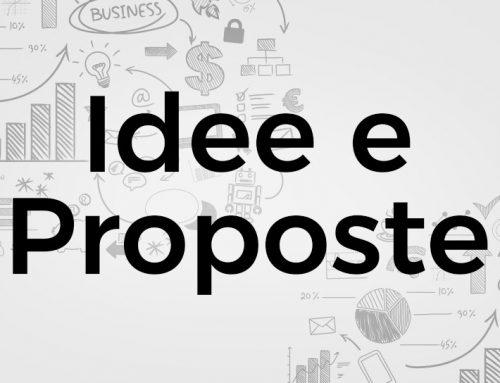 Progetti 2021: idee e proposte